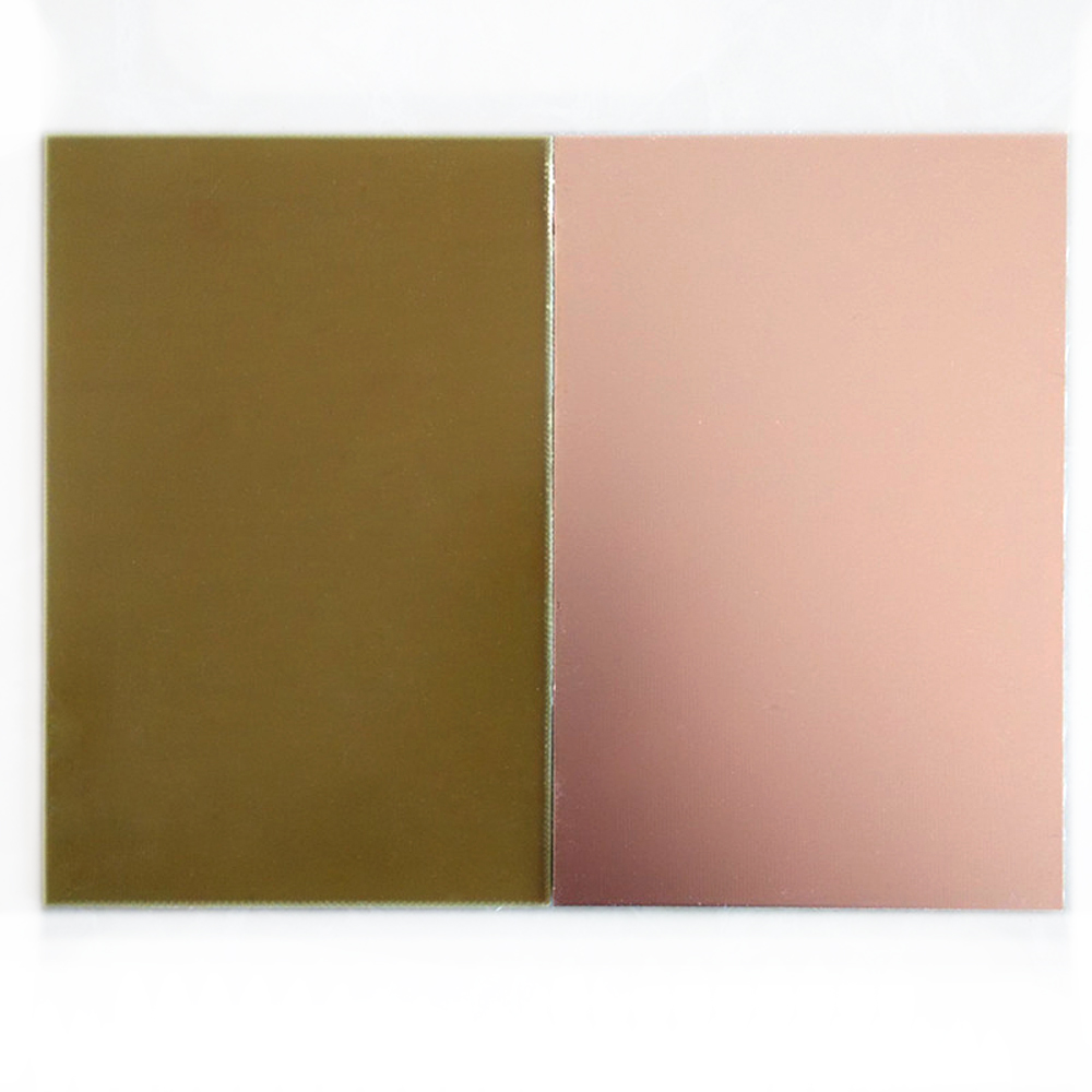 Small Batch (10pcs/lot) 10cm*15cm Blank Glass Single Side Copper Clad Plate Laminate Universal PCB Circuit Board Sheet