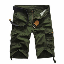 Camouflage Camo Cargo Shorts Men 2019 New Mens Casual Male Loose Work Man Military Short Pants Plus Size 29-38