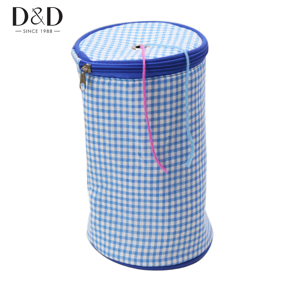 Knitting Yarn Holder Bag : D colors fabric crafts empty knitting needles storage