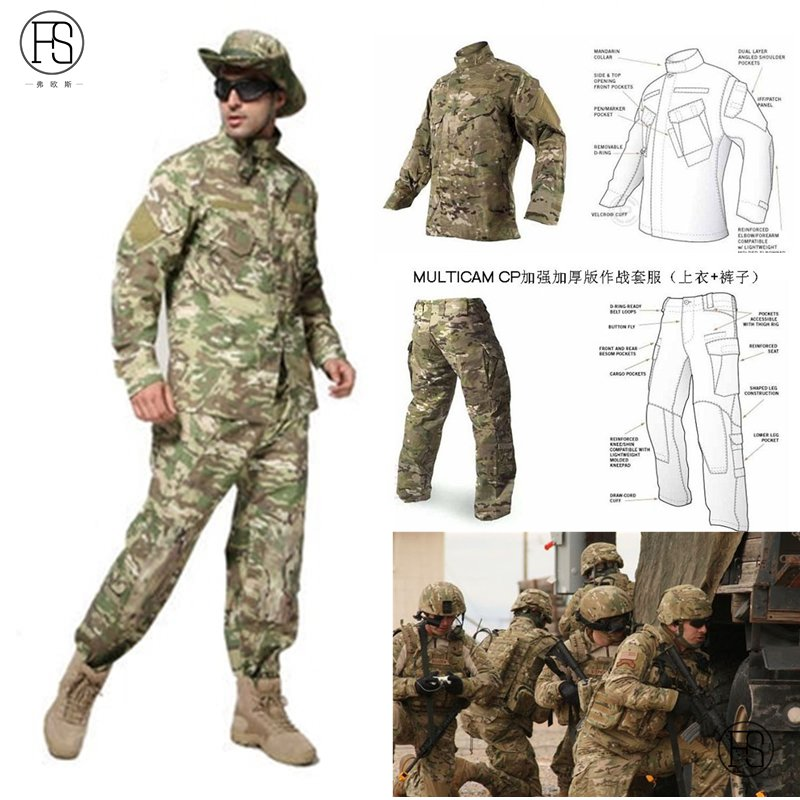 Men Camouflage Tactical military uniform clothing army of the combat uniform pants CP hunting clothes US special warfare suits outdoor hunting clothes us army tactical uniform men camouflage suit military combat uniform set shirt pants acu camo clothing