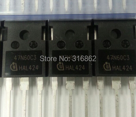 SPW47N60C3 <font><b>47N60C3</b></font> 47N60 <font><b>ORIGINAL</b></font> 100% ROHS 5PCS/LOT Free Shipping Electronic Components kit image