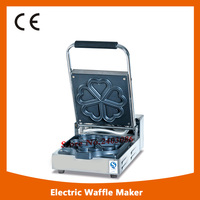KW E5A stainless steel heart shape waffle maker machine for snack equipment