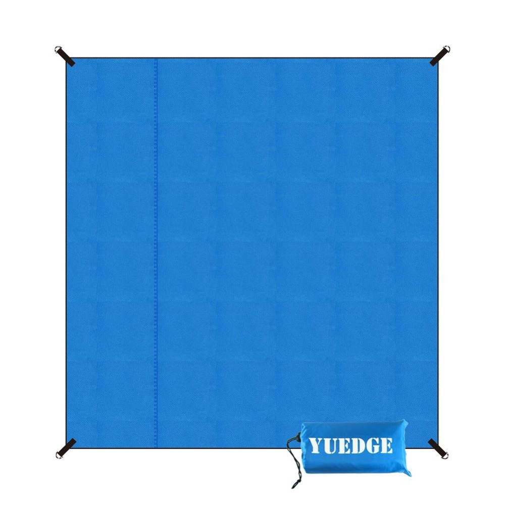 YUEDGE Brand Waterproof Camping Tent Tarp Footprint Groundsheet Picnic Mat Sand Free Beach Mat Sunshade portable sand free mats for beach picnic camping