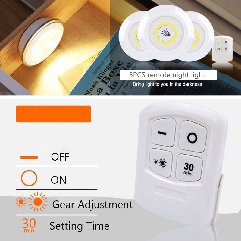 Admirable Anyige Cob Led Night Light With Infrared Remote Control Use Aaa Wiring Cloud Scatahouseofspiritnl