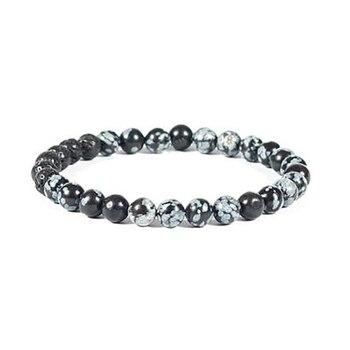 Obsidienne Mouchetée Bracelet