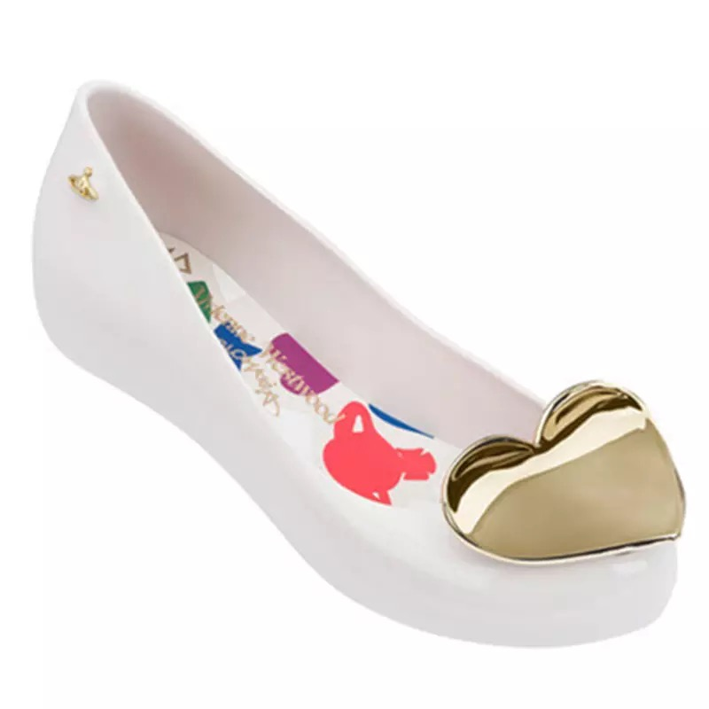 Melissa 2019 ผู้หญิงหัวใจแบนรองเท้าแตะ Melissa รองเท้าสำหรับสตรีวุ้นรองเท้าแตะหญิง Jelly รองเท้า-ใน รองเท้าแตะสตรี จาก รองเท้า บน AliExpress - 11.11_สิบเอ็ด สิบเอ็ดวันคนโสด 1