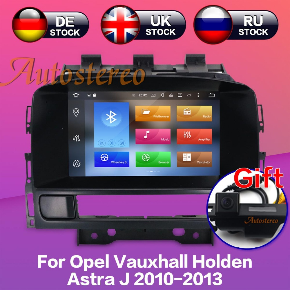Android7.1 8.0 Car DVD player GPS navigation radio Stereo for OPEL Vauxhall Holden Astra J 2010-2013 multimedia auto radio unit android 7 1 2g ram 1024 600 7 car dvd player gps navigation for opel astra j vauxhall astra 2010 2011 2012 2013 with can bus 4g