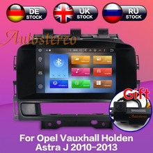 Android7.1 8.0 Car DVD player GPS navigation radio Stereo for OPEL Vauxhall Holden Astra J 2010-2013 multimedia auto radio unit