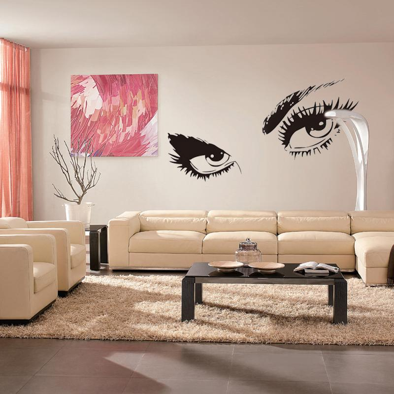 Aliexpresscom Buy Sexy Eyes Wall Sticker Home Decor Vinyl Art