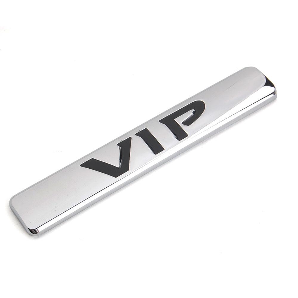 BARBECUE @ FUKA Auto 3D 100% Métal V Je P VIP Voiture Camion corps Side Decal Autocollant Emblème Bagde De Golf De Voiture-voiture de style-couvre accessoires De Voiture