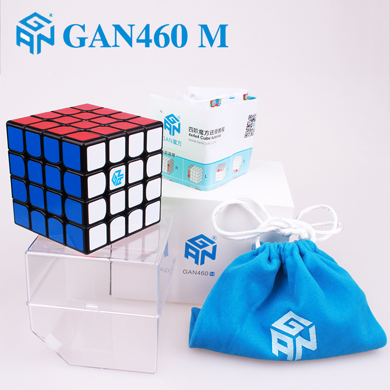Gan 356 Air SM magnetic magic cube Gan 460 M 4x4x4 professional speed puzzle cubes gans249 V2M magnets cubo magico toys for kids