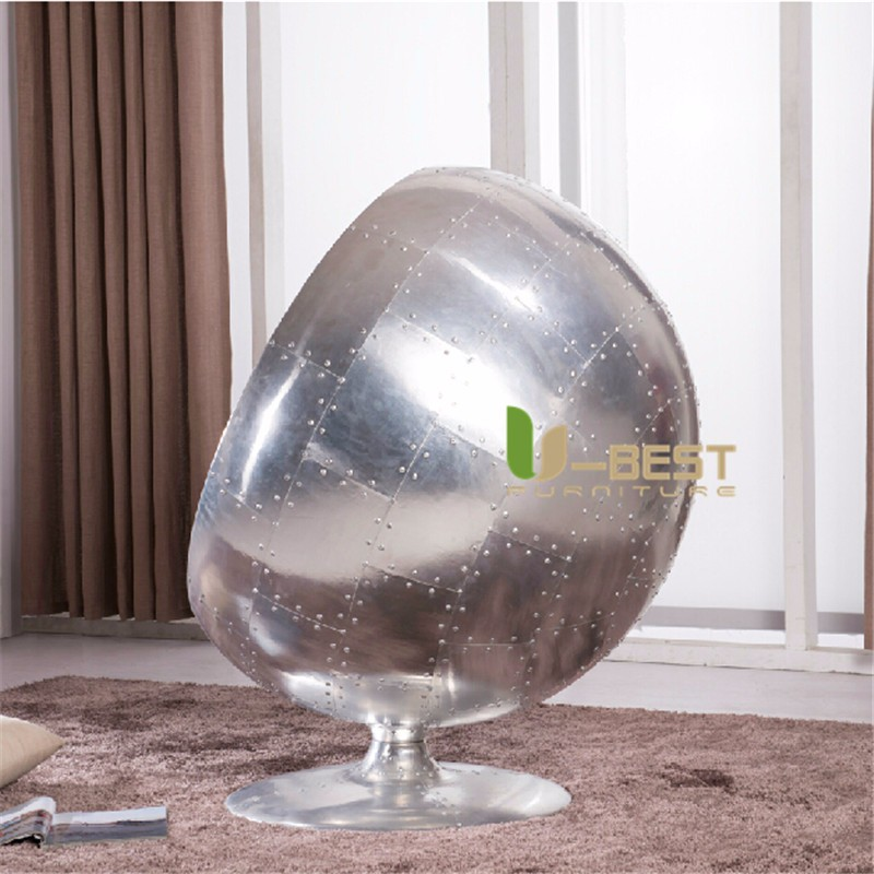 Aluminum ball shell chair  (3)