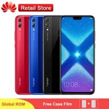 Küresel Huawei Onur 8X LTE Cep Telefonu 6.5