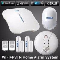 KERUI W1 WIFI Alarm System Home PSTN Burglar Security Intelligent System Android IOS APP Control Wireless