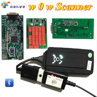 New Design NEW VCI With Bluetooth Multi Languages OBD2 TCS ODB OBDII Scanner Red NEC Relays Diagnostic Tools TCS Pro