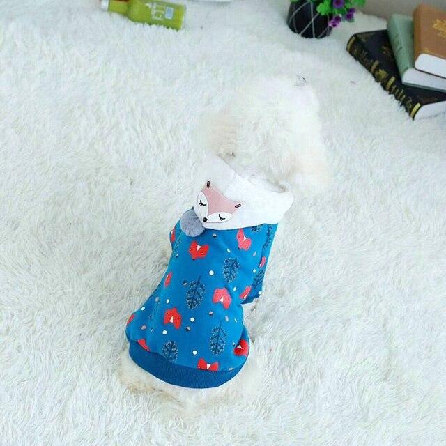 Animale Domestico sveglio Del Gatto Vestiti Del Cane di Inverno Pet Cappotto Caldo Del Cane Con Cappuccio Vestiti Per Cani di Piccola Taglia Animali Domestici Vestiti Morbido Pet Abbigliamento bulldog francese