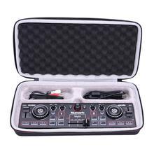 LTGEM EVA водонепроницаемый переносной Жесткий футляр для Numark DJ2GO2/Карманный DJ контроллер