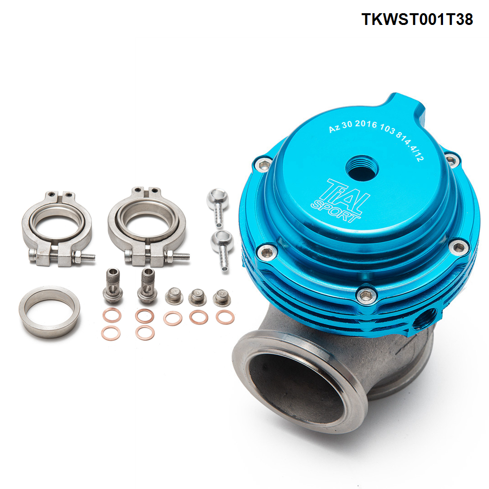 Portão de resíduos turbo pulseira v, 38mm de desperdício externo para supercarga turbo colector-1