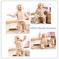 2016 Nova Primavera Quente Do Bebê Menina Casaco Outwear 100% de Musselina algodão Confortável Super Macio Sólida Completa Floral Baby Girl Jaqueta roupas