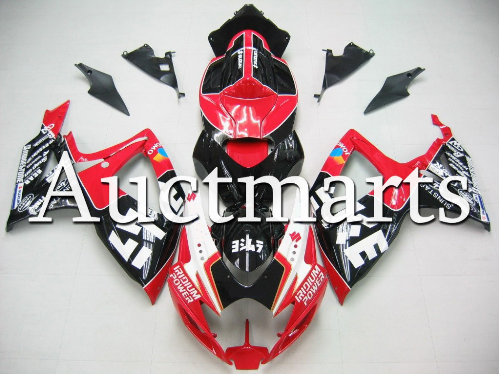 Fit for Suzuki GSX-R 600 2006 2007 ABS Plastic motorcycle Fairing Kit Bodywork GSXR600 06 07 GSXR 600 GSX R600  CB40