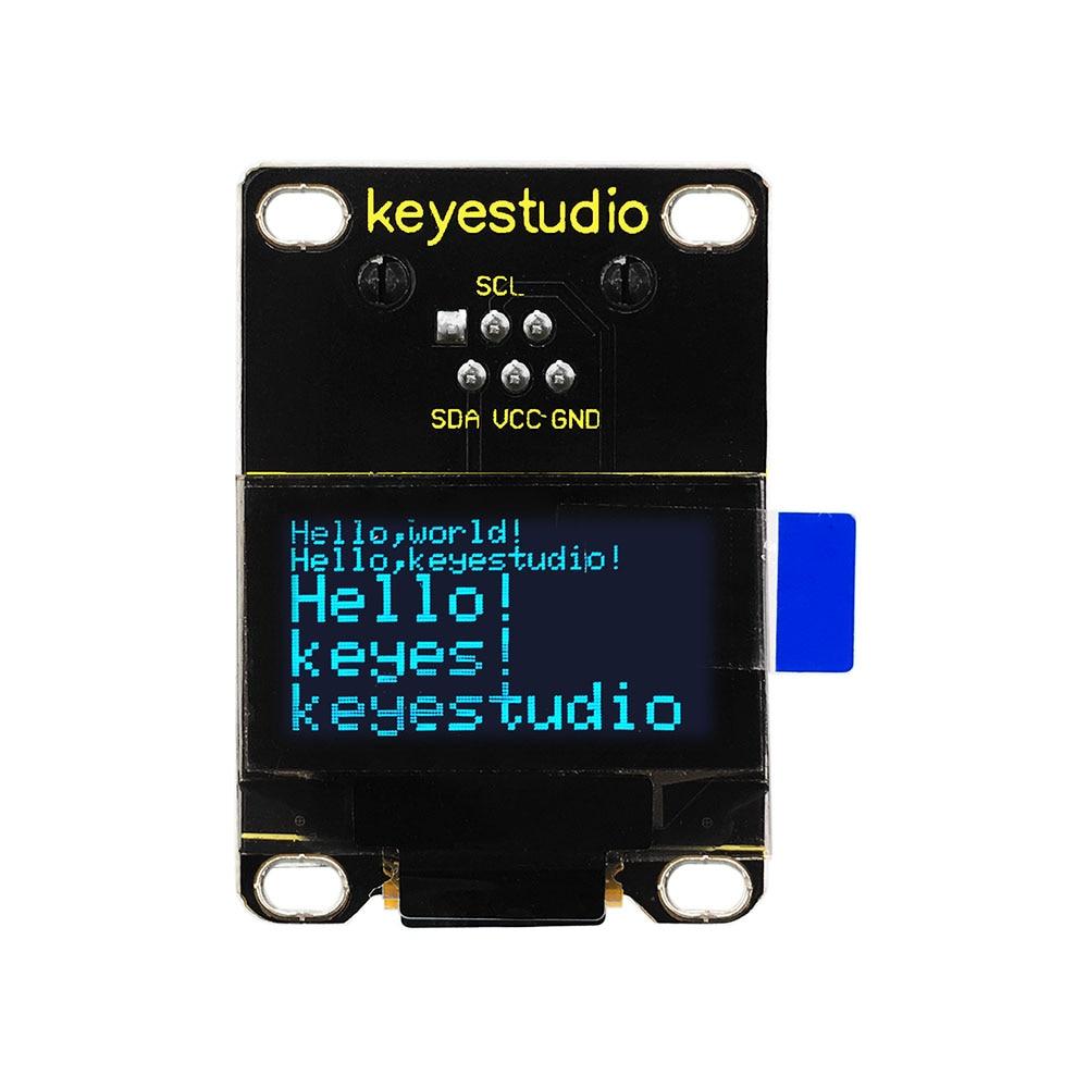 NEW!Keyestudio RJ11 EASY plug 128 x 64 OLED Module for Arduino STEAMNEW!Keyestudio RJ11 EASY plug 128 x 64 OLED Module for Arduino STEAM