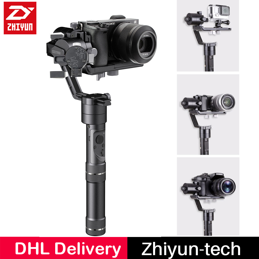 Zhiyun Crane M Crane-M 3 axis Gimbal Handheld Stabilizer 3-Axis for iPhone X 8 Gopro Xiaoyi Action camera DSLR Mirrorless Camera