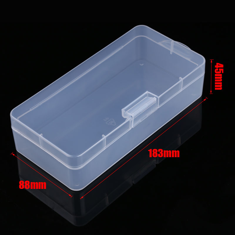 Portable Practical Electronic Components Screw DIY Tools Plastic Box Removable Storage Screwdriver Tool Case (4)