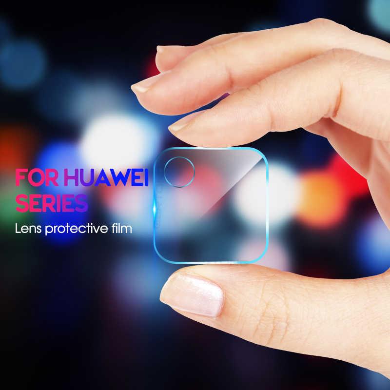 واقي للشاشة زجاجي للكاميرا الخلفية لهاتف هواوي هونور 10 لايت فيو 10 20 V20 V10 Mate 20 P30 Pro P20 Lite HD زجاج مقسى