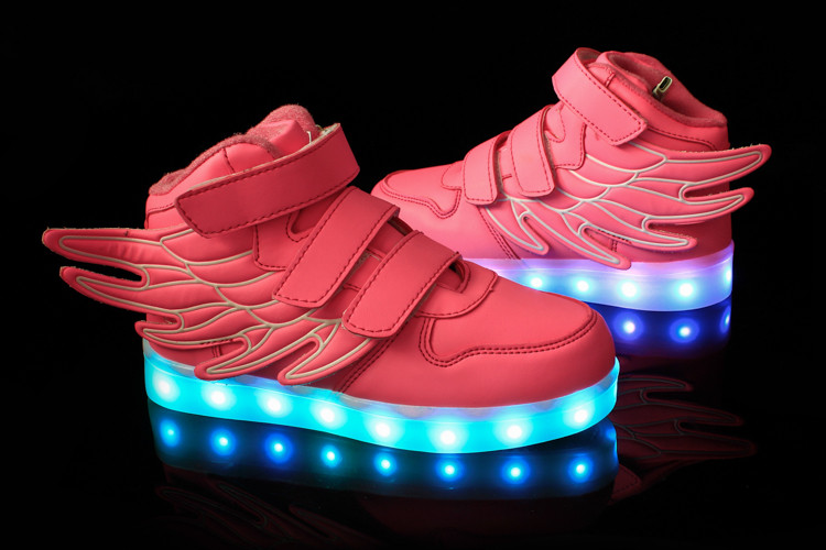 Wholesale kids led shoes