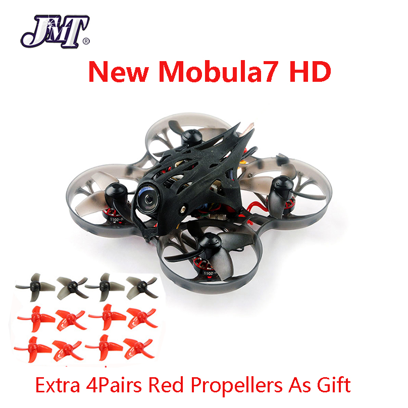 Mobula7 HD 2-3S 75mm Crazybee F4 Pro BWhoop Mobula 7 HD FPV Racing Drone PNP BNF With Turtle V2 FPV Mini Camera Racer Drone