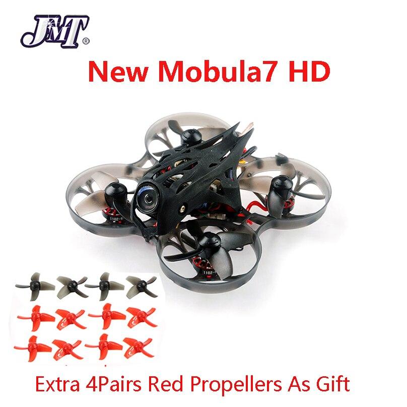 Mobula7 HD 2-3S 75mm crazy ybee F4 Pro BWhoop Mobula 7 HD FPV Drone de course PNP BNF avec tortue V2 FPV Mini caméra Racer Drone