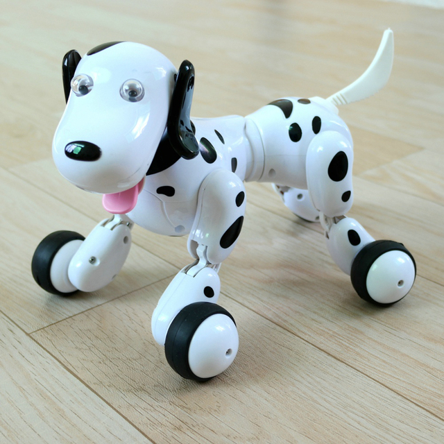 Simulation Mini Dog Animal 2 4g Radio Robot Animal Smart Dog Remote