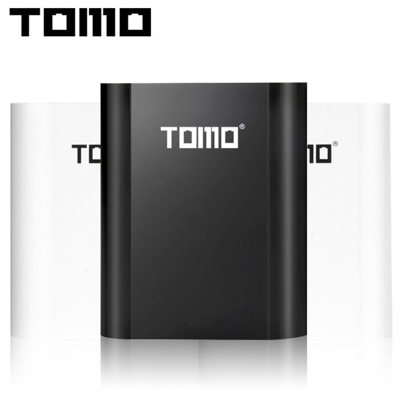 TOMO S4 USB Li-ion Intelligent Battery Charger LCD DIY Mobile Power Bank Case Support 4 x 18650 Batteries and Outputs for Phone