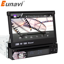 Eunavi 7 1 Din WCE Car DVD Player GPS Navigation Universal In-dash Detachable Front Panel Auto Radio Audio Stereo