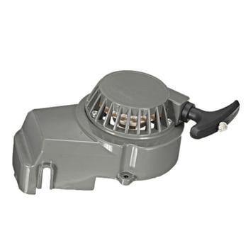Arranque de tracción de Metal 49cc refrigerado por aire 2 tiempos Mini Moto Dirt Quad Pullstart 49 cc-gris