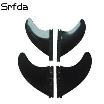 srfda 7set /Lot High quality surfboard For FUTURE box nylon+30%GF material size 2pcs F4.37 + 2PCS-X350 quad fins