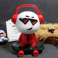 Q Version Of The Music Boy Table Lamp Skateboard Lamp Night Light Fashion Cartoon Light Creative