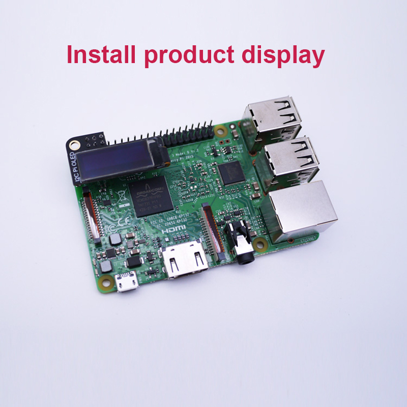 Image 5 - Mini 0.9 inch OLED Display 128x32 resolution For Raspberry Pi 2 3 B Zero-in Amplifier from Consumer Electronics