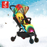 Light folding baby stroller hc818 summer suspension child wheelbarrow four wheel