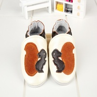 Free Shipping Fashion Genuine Cow Leather Baby Moccasins Soft Soled Baby Boy Shoes Girl Newborn