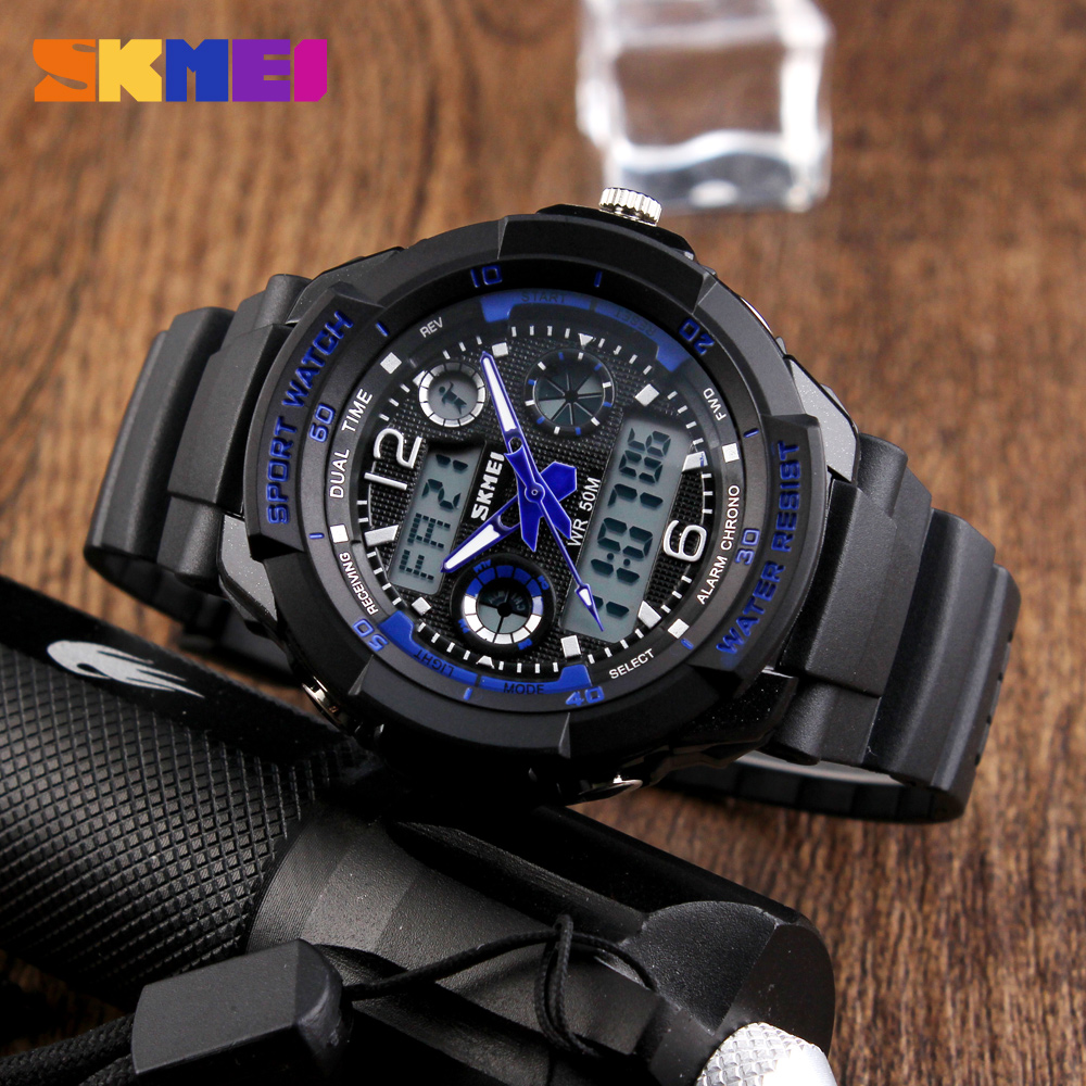 New 2017 Skmei Children Sports Watches S SHOCK Military Fashion Casual Quartz Digital Watch Boys Wristwatches