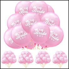 10pcs/lot 12inch Bride To Be Printed Latex Balloons Wedding Engagement Party Bridal Shower Decorations Pink Ballons
