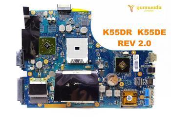 Original for ASUS  X55DR  X55DE laptop  motherboard  K55DR  K55DE   REV 2.0 tested good free shipping