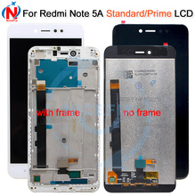 """5.5"""" 720x1080 IPS Display For XIAOMI Redmi Note 5A LCD Touch Screen With Frame for Xiaomi Redmi Note 5A Prime LCD Y1 / Y1 Lite"""