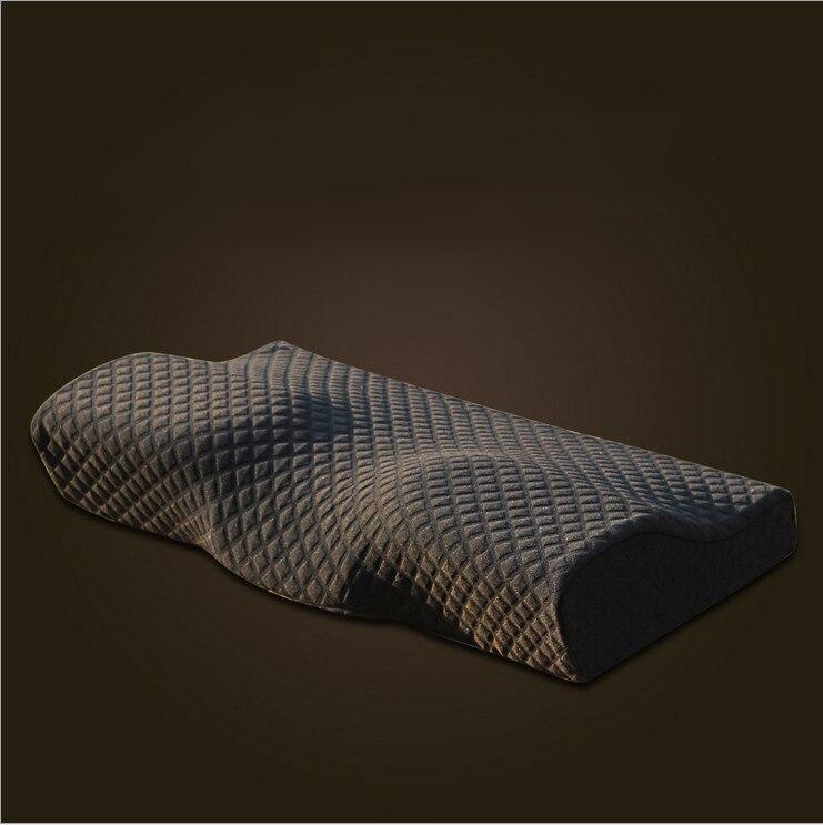2018 orthopädische Latex Magnetische 50*30 CM Nackenkissen Langsam Rebound Memory-foam-kissen Zervikalen Gesundheitswesen Schmerzen Mitteilung kissen