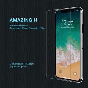 Image 3 - Đối với iPhone X/XS/XR/XS Max/8 Cộng Với Glass Bảo Vệ Màn Hình NILLKIN Tuyệt Vời H/ H +/H + PRO 9 H 2.5D Vòng Cung 0.3mm Tempered Kính Bảo Vệ