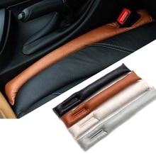 1 шт. из искусственной кожи автомобильное кресло зазор стопор герметичный падение Герметичная прокладка наполнителя коврик подушка центральная консоль стикер для подлокотника
