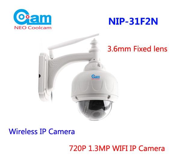 Приближения НИП-31F2N Пан наклона HD беспроводной IP-камера 960p 1.3 мегапиксельная IP-камера 3.6 мм объектива фикс сетевого видеонаблюдения встроенная 8G SD карты
