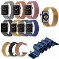 8 cor 1:1 original link pulseira pulseira milanese laço pulseiras de relógio pulseira de banda de aço inoxidável para apple watch 38mm42mm iwatch
