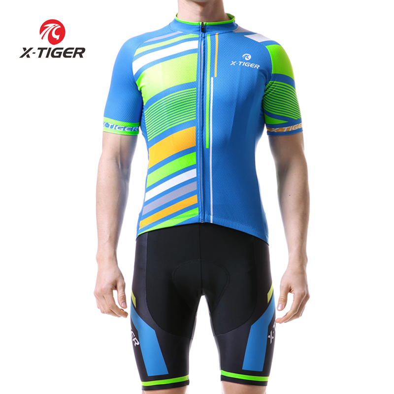 X-Tiger 2018 Cycling Jersey Set Mountain Bike Clothes Racing MTB Bicycle Uniforms Maillot Ropa Ciclismo Cycling Clothing Set otwzls cycling jersey 2018 set mountain bike clothing quick dry racing mtb bicycle clothes uniform cycling clothing bike kit